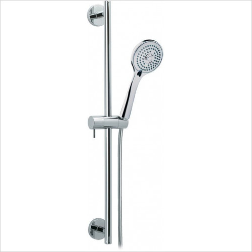 Bathroom Origins - Ramon Soler Odisea Slide Bar 550mm With T3 Handset & Hose