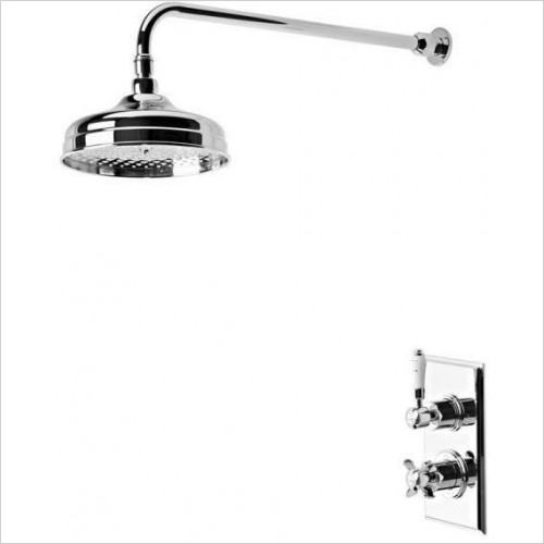 Tavistock - Varsity Thermostatic Concealed Single Function Shower Valve
