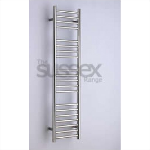 JIS Sussex - Ashdown Cylindrical Electric Towel Rail 1250x300mm