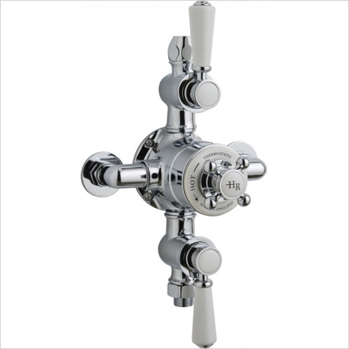 Hudson Reed - Topaz Triple Thermostatic Shower Valve