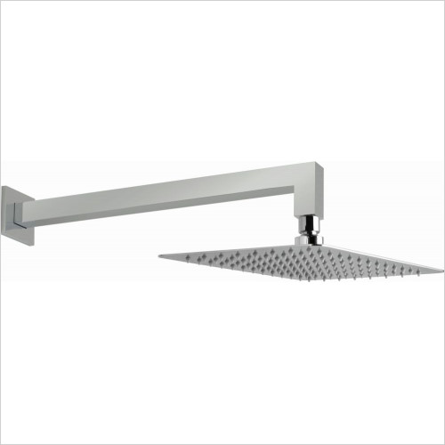 Vado - Aquablade 200 x 300mm (8''x12'') Rect Slimline Shower Head