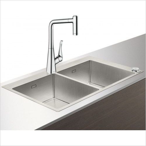 Hansgrohe - C71-F765-05 Select Sink Combination 370 x 370mm