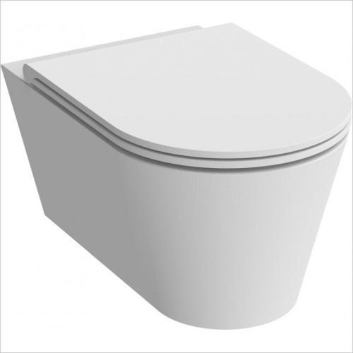 Saneux - Icon Round Wall Hung Pan