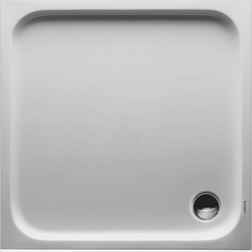 Duravit - D-Code Shower Tray 1000x1000mm Square Outlet Diam 90mm