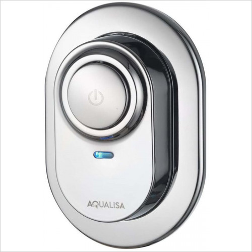 Aqualisa - Visage Digital Concealed With Fixed Head - HP/Combi