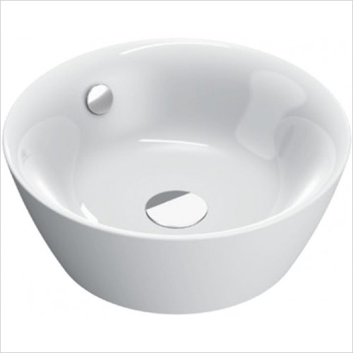 Catalano - Velis 42 Basin Sit On NTH 42 x 42cm, Restyle Of The 142VLN00