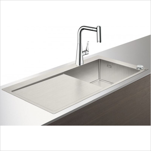 Hansgrohe - C71-F450-02 Select Sink Combination 450mm With Drainboard