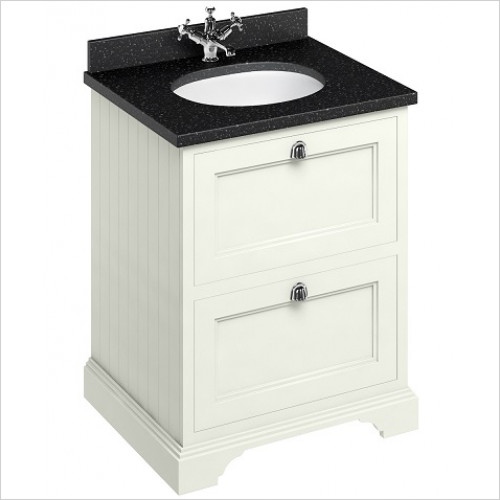 Burlington - 600 Freestanding Basin Unit With Drawers