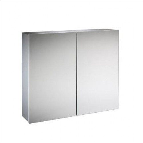 Tavistock Bathrooms - Balance Double Door Cabinet 600 x 650mm With LED
