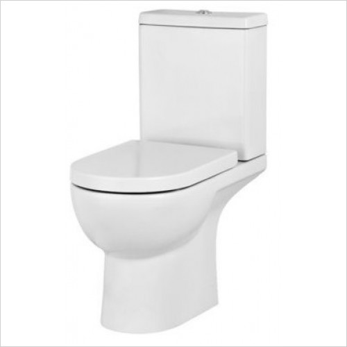 Saneux - Austen Close Coupled WC Pan - Open Back Only