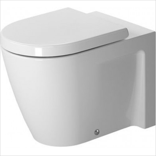 Duravit - Starck 2 Toilet Floorstanding 570mm Washdown Closed