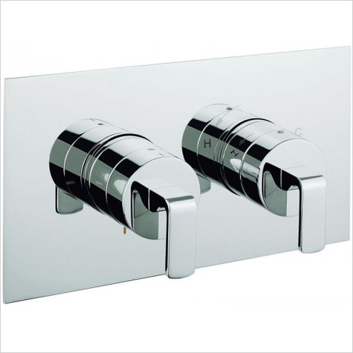 Crosswater - Zero One Thermostatic Shower Valve, 2 Way Diverter
