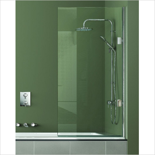 Matki - Single Bath Screen 800mm RH GG