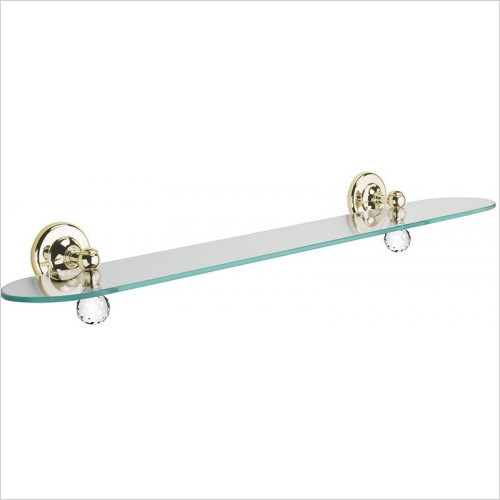 Bathroom Origins - Oriental Crystal Shelf 60cm