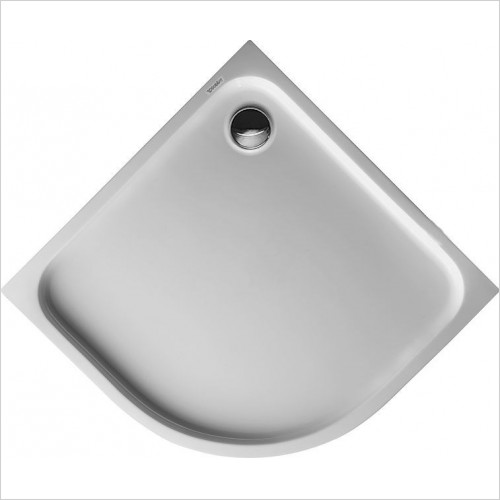 Duravit - D-Code Shower Tray 900x900mm Quarter Circle R50