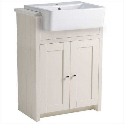 Tavistock Bathrooms - Lansdown Semi-Countertop Unit 600mm