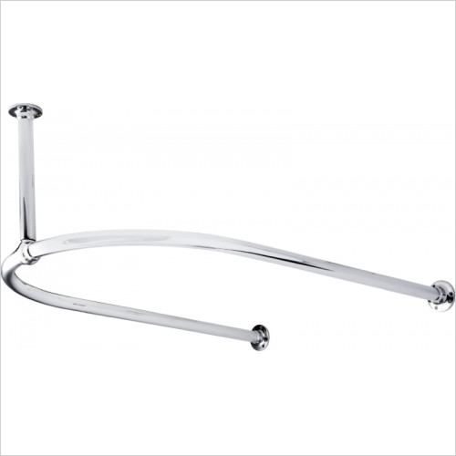 Hudson Reed - 1/2 Shower Curtain Ring