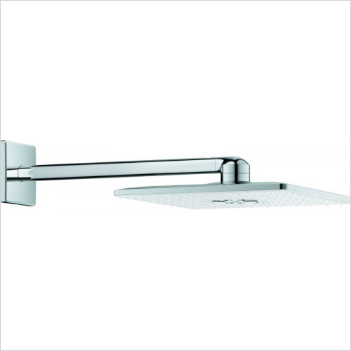 Grohe - Rainshower 310 SmartActive Cube Head Shower Set 430mm