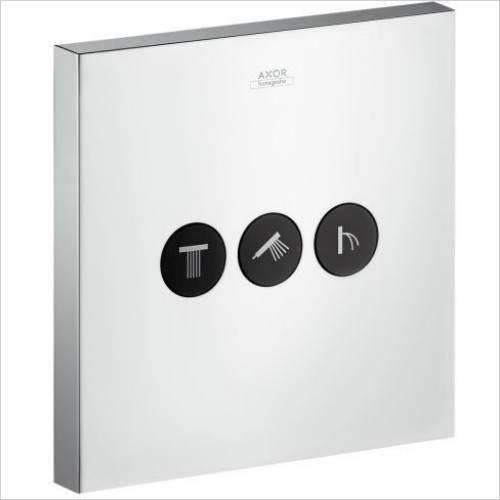 Hansgrohe Axor - ShowerSelect Square Valve Concealed 3 Outlets