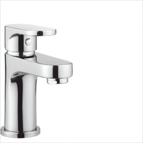 Crosswater - Style Basin Mini Monobloc With Click Clack Waste