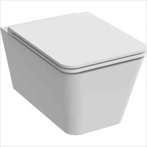 Saneux - Icon-S Square WC Pan- Wall Hung