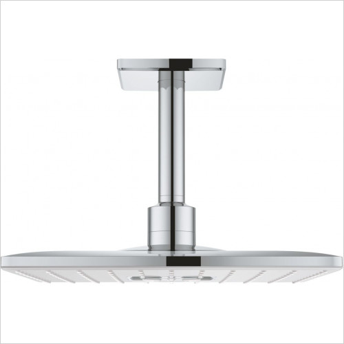 Grohe - Rainshower 310 SmartActive Cube Head Shwr Set Ceiling 142mm