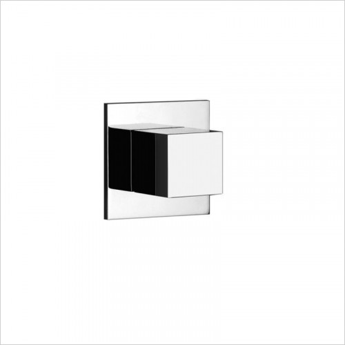 Gessi - Rettangolo Stop Valve For Thermostatic High-Capacity Mixer