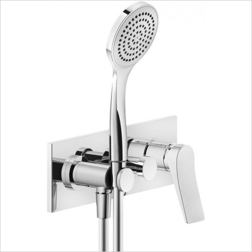Gessi - Rilievo External Parts For Two-Way Built-In Shower Mixer