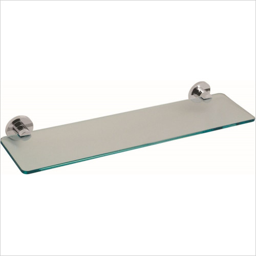 Vado - Elements Frosted Glass Shelf 558mm (22'') Wall Mounted