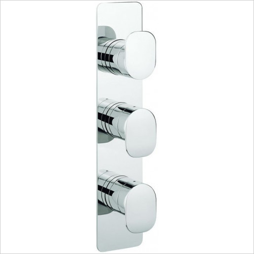 Crosswater - Zero Two Thermostatic Shower Valve, Portrait