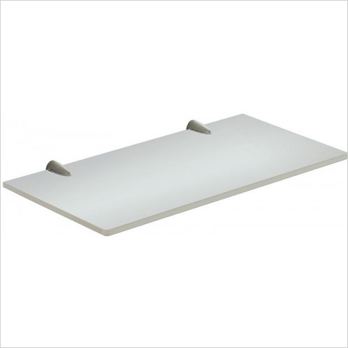 Bathroom Origins - Gedy Artemis Glass Shelf 30cm