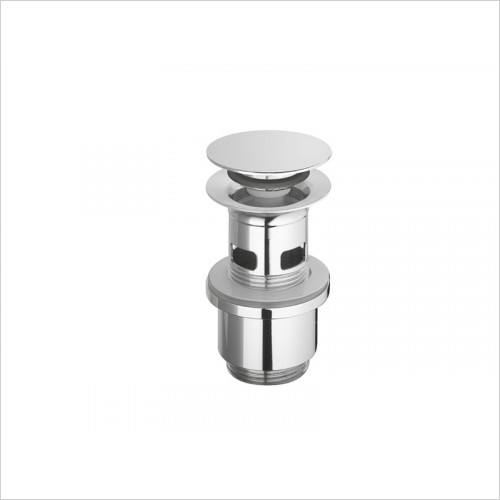 Catalano - Flat Brass Drain With Snap-Motion