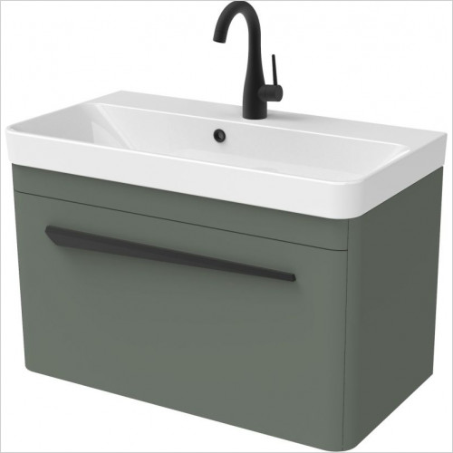 Hyde 70 x 38cm Wall Mounted Unit 1 Drawer