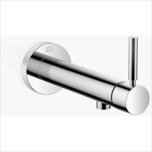 Wall-Mounted Single-Lever Basin Mixer Without Pop-Up Waste