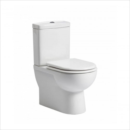 Tavistock Bathrooms - Micra 615 Close Coupled Fully Back To Wall Toilet WC Soft Se