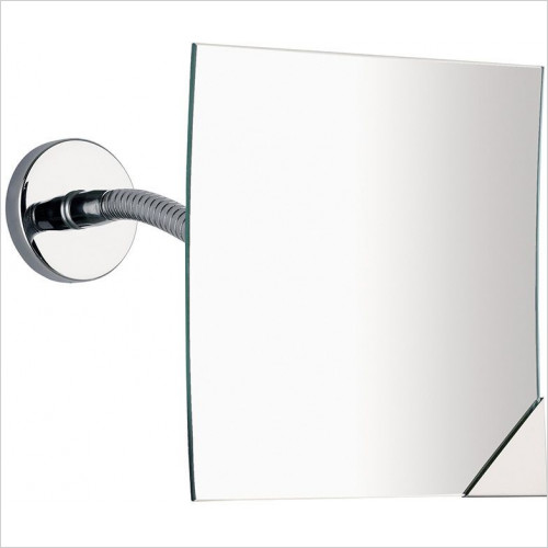 Bathroom Origins - Gedy Square Magnifying Wall Mirror