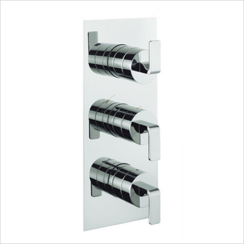 Crosswater - Zero One Thermostatic Shower Valve, 3 Control Portrait
