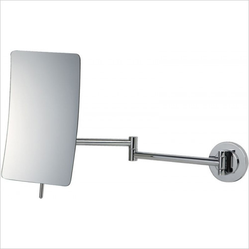 Bathroom Origins - Square 5x Mag Wall Mirror