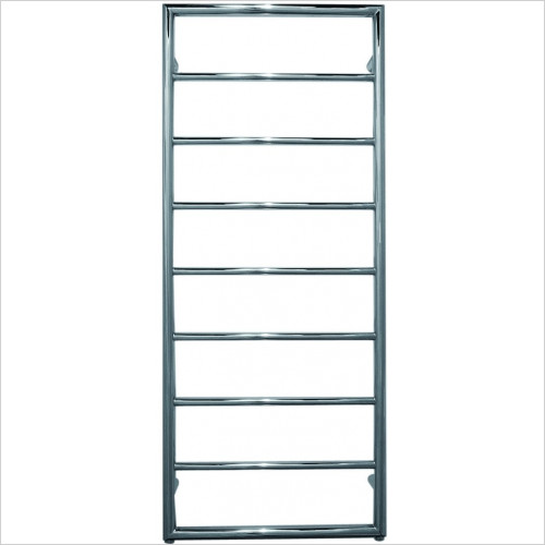 JIS Sussex - Alfriston Electric Flat Fronted Towel Rail 1260x520mm