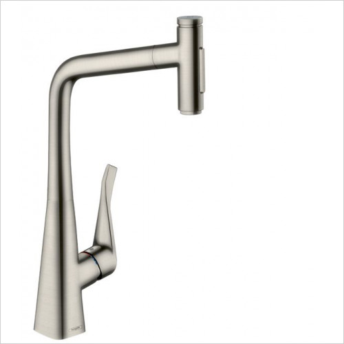 Hansgrohe - M7117-H320 - Single Lever Kitchen Mixer With Pull-Out Spray