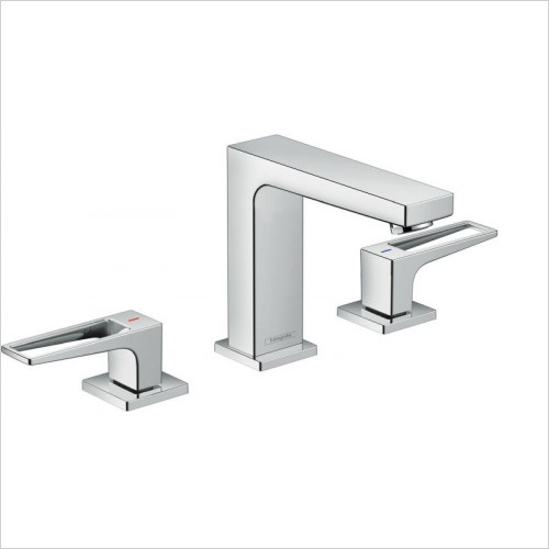 Hansgrohe - Metropol 3-Hole Basin Mixer 110 With Push-Open Waste