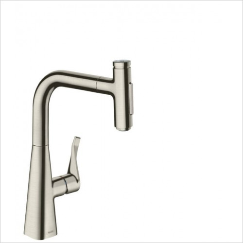Hansgrohe - M7117-H240 - Single Lever Kitchen Mixer With Pull-Out Spray