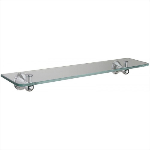 Bathroom Origins - Sonia Genoa Glass Shelf 50cm