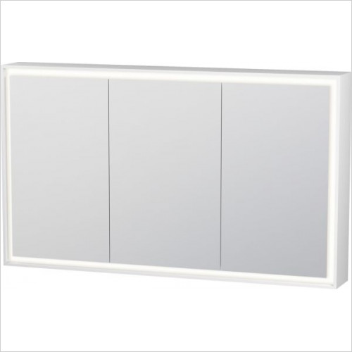 Duravit - L Cube Mirror Cabinet With Lighting 1200mm