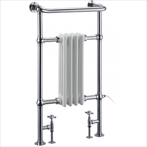 Burlington - Bloomsbury Towel Airer With Radiator Panel