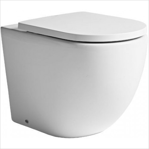Tavistock Bathrooms - Orbit 560mm Back To Wall Pan Only