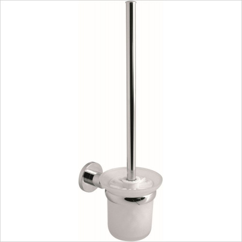 Vado - Elements Toilet Brush & Holder Wall Mounted