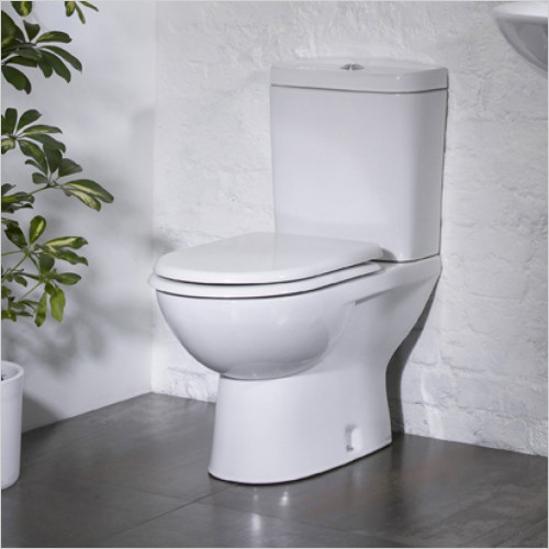Tavistock Bathrooms - Micra 600 Projection Close Coupled Toilet WC Soft Seat