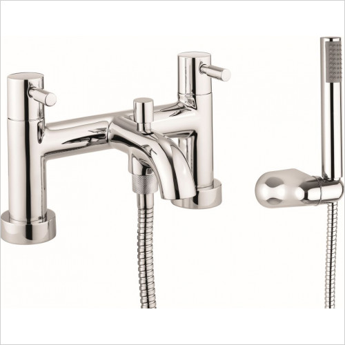 Crosswater - Bath Shower Mixer Dual Lever With Kit