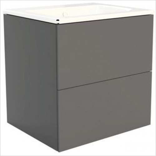 Catalano - Sfera 60 2 Drawer Unit 59x49x60cm